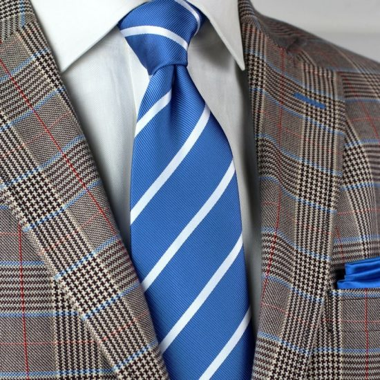 Mens Repp Stripe Ties