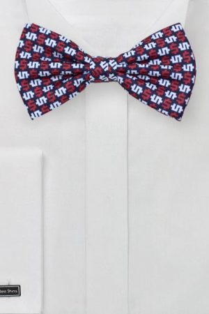 Mens Summer Bow Ties for Fourth of July