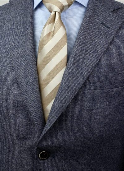 Champagne + Tan Wedding Neckties