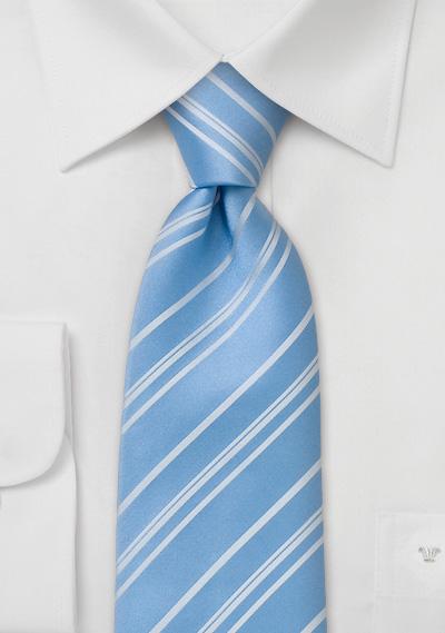 striped tie baby blue tie with white stripes