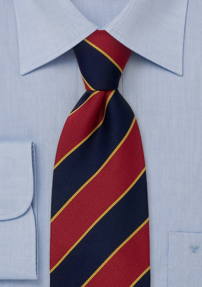 Traditional british style tie redblue striped necktie traditional british style tiebrredblue striped necktie ccuart Gallery