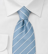 Blue Neckties<br>Light blue necktie