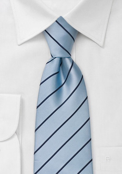 Light Blue Neckties<br>Modern light blue tie