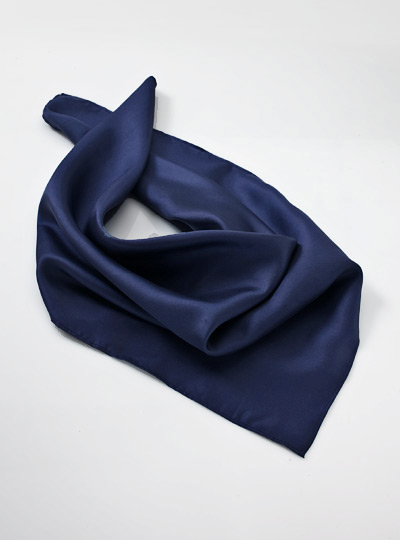 neck scarf a formal dark navy blue neck scarf designed to match the Mens Formal Neck Scarves