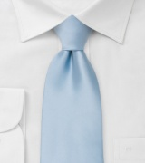 Extra long ties Light blue XL necktie