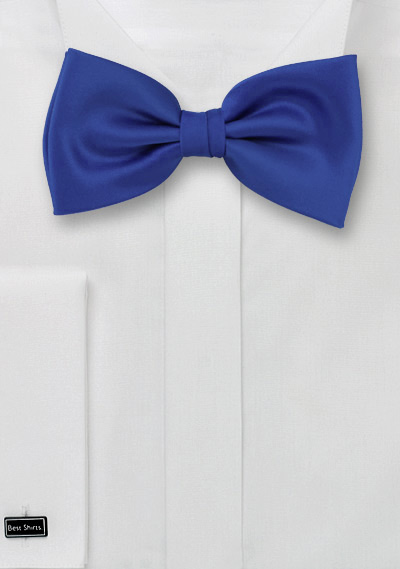 Bright Azure-Blue Men\'s Bow tie