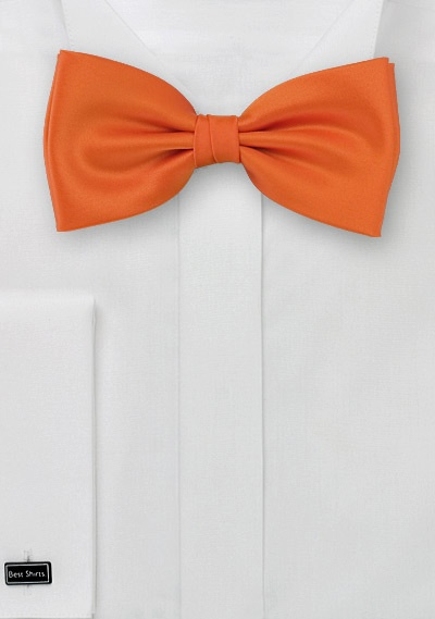Kids Bow Tie in Orange