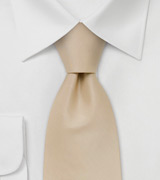 Light Brown Mens Tie