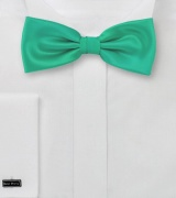 Jade Green Bow Tie for Kids