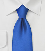 Horizon Blue Mens Tie in XL Length