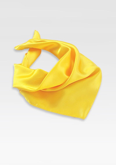 Womens Scarf in Sunbeam Yellow