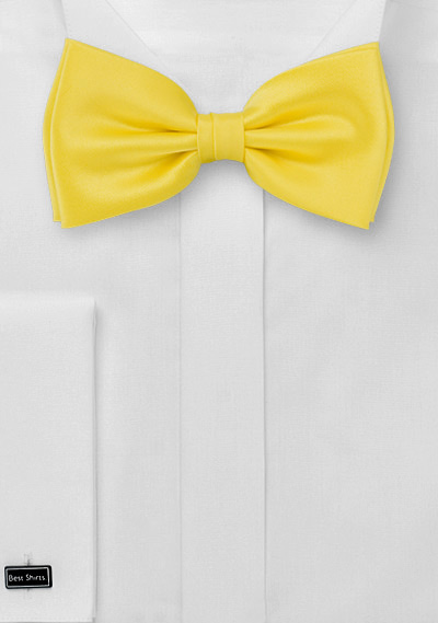 Sunbeam Yellow Bow Tie