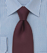 Maroon Tie with Matte Finish