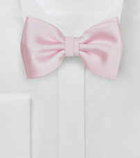 Blush Colored Bow Tie