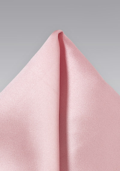 Pocket Square in Candy Pink