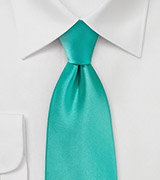 Mermaid Color Necktie in Single Color