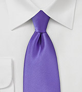 Freesia Purple Tie in XL Length