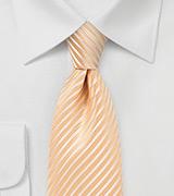 Peach Fuzz Necktie in XL Size