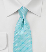 Summer Necktie in Radiant Blue