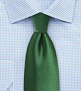Forest Green XL Length Necktie