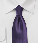Majesty Purple Necktie