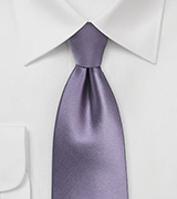 Wisteria Colored Necktie