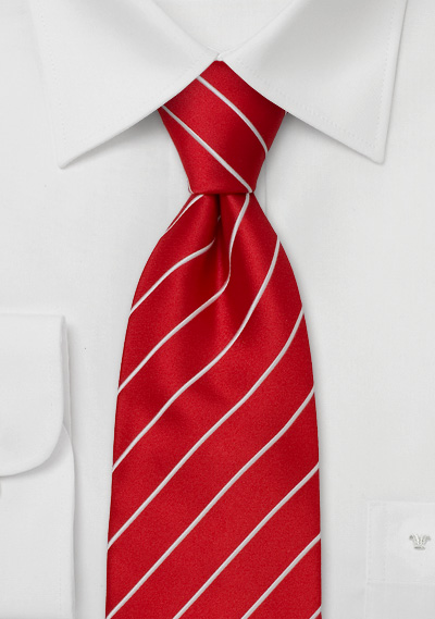 Business Tie<br> Bright Red