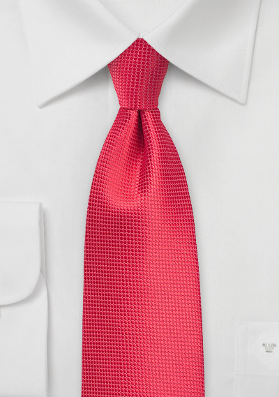 Grenadine Color Kids Tie