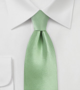 Laurel Green Mens Tie in XL