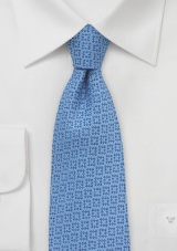 Wool Tie in Dusk Blue