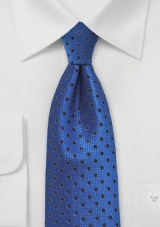 Egyptian Blue Polka Dot Tie