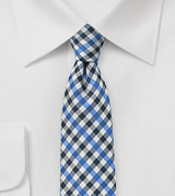 Autumn Skinny Tie in Blue
