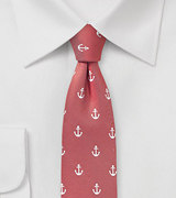 Skinny Anchors in Red