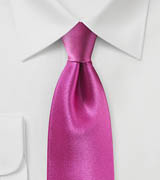 Solid Tie in Very Berry Pink