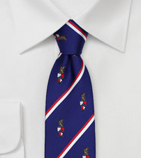 Skinny Tie for Beta Theta Pi