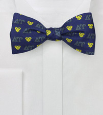 Silk Bow Tie for Delta Upsilon