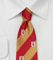 Kappa Alpha Silk Striped Tie