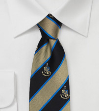 Phi Kappa Sigma Coat of Arms Silk Tie