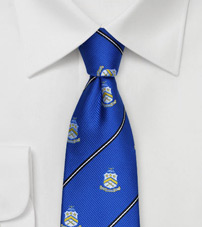 Crested Skinny Tie for Pi Kappa Phi