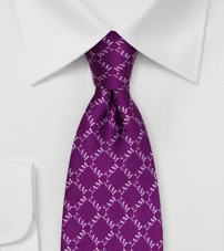 Designer Silk Tie for Sigma Alpha Mu