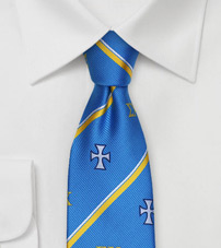 Crested Skinny Necktie for Sigma Chi