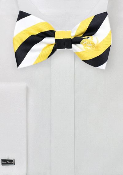 Striped Bow Tie for Sigma Nu