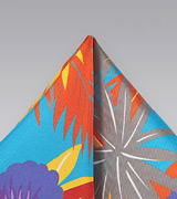 Hawaii Print Silk Pocket Square