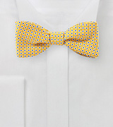 Canary Yellow Summer Bow Tie