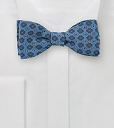 Blue Jean Colored Bow Tie