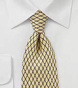 Net Tie in Sunbeam Yellow