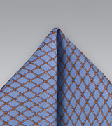 Steel Blue Handkerchief
