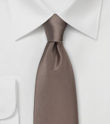 Latte Brown Colored Necktie