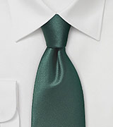 Dark Hunter Green Tie
