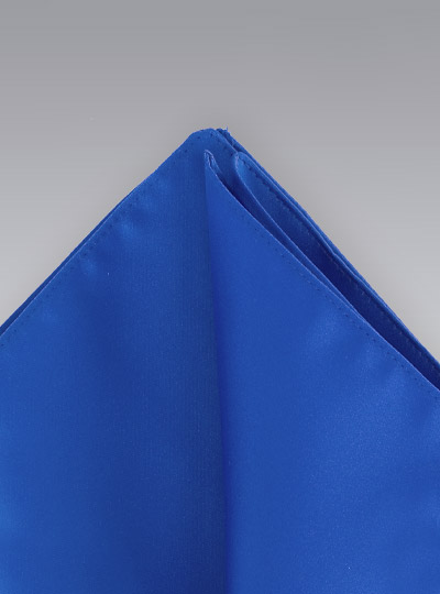 Pocket Squares<br>Royal blue colored hankie